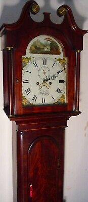 "Antique ""  Automation  Swan  ""  London ""  Grandfather / Longcase Clock"