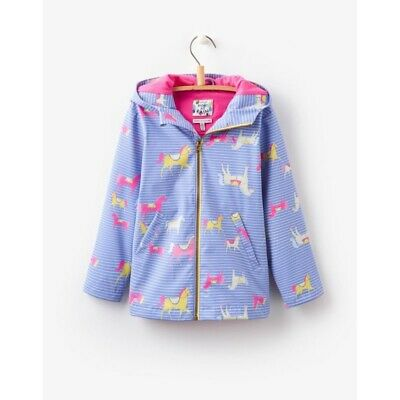 Joules Raindance Girls Showerproof Rubber Coat BNWT - Age 7 Years