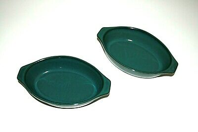 Denby Greenwich Serving Dishes x 2 (small)