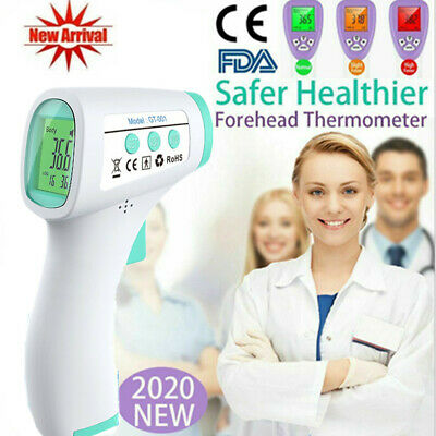 Infrared Forehead Thermometer Non-Contact FDA, CE Medical Approved for Fever NEW