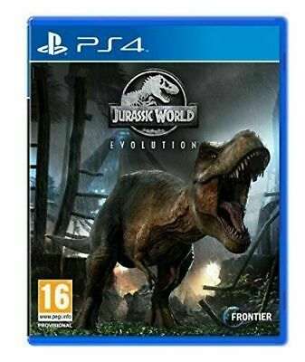 Jurassic World Evolution - PS4 - PLAY STATION 4 - Sigillato Nuovo Italiano