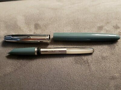 Vintage Parker 51 Special Aqua Fountain Pen w/ Nib Made in USA - Unused!