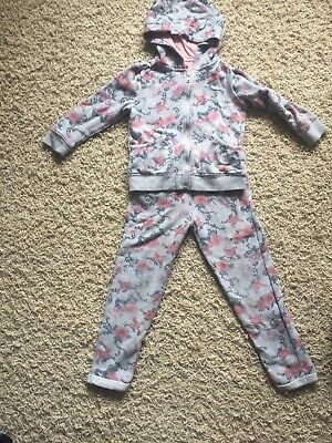 Girls Tracksuit Age 5 F&f