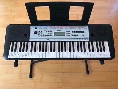 Yamaha YPT-260 Portable Keyboard with Metal Keyboard Stand