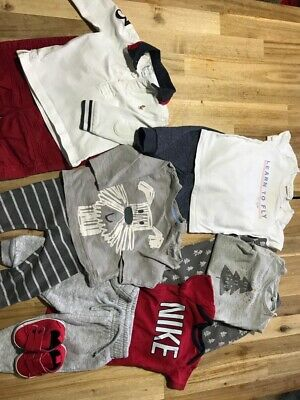 baby boys clothes 3-6 months bundle. Nike Tracksuit, Ralph Lauren Polo Shirt And