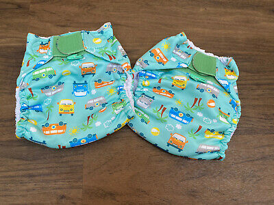 Totsbots Reusable Swimming Nappy Lightly USED X2 Campervan Size 2