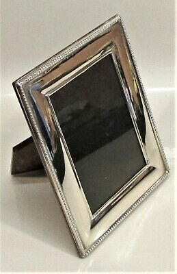 S/Silver Photo Frame Carrs of Sheffield 1995, Good Condition Wood Back.