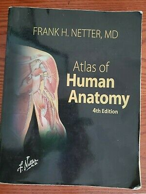 Atlas of Human Anatomy by Frank H. Netter (2014, Hardcover)