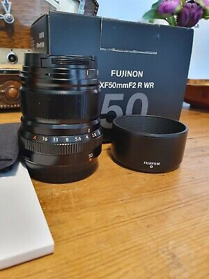 Fuji XF 50mm F2 R WR Lens – Boxed in great condition.