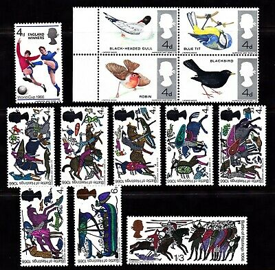 Great Britain Mnh 3 Sets From 1966