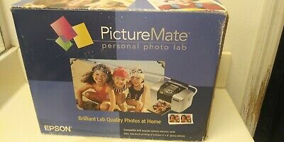Epson Picture Mate Personal Photo Lab Home Picture Printer with extras