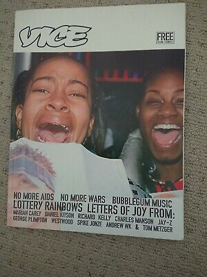 VICE MAGAZINE Issue One, Number One