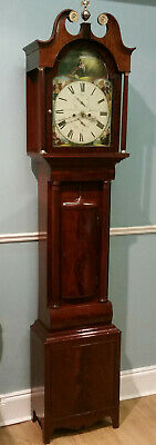 19Th Century Quarter Striking Longcase Clock.