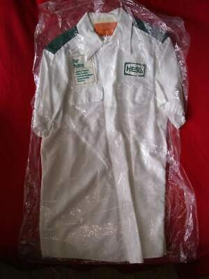 Vintage HESS Gas Station Attendant Shirt - Medium size, with 3 patches