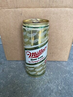 VTG RARE Miller High Life - 16 FL OZ. - Great Condition Beer Can