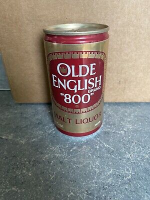 "VTG RARE Olde English Brand ""800""  - 12 FL. OZ. - Great Condition Beer Can"