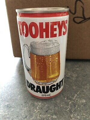 VTG RARE Tooheys Draught AU Steel Pull Tab - 375 ML - Great Condition Beer Can