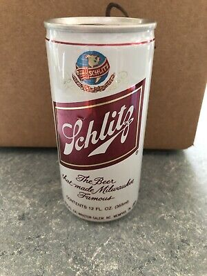 VTG RARE Schlitz Pull Tab - 355 ML - 12oz - Great Condition Beer Can