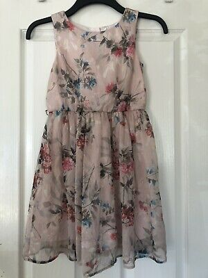 🌸GIRLS 🌸pretty pink 🌸floral 🌸dress from Next age 11yrs🌸