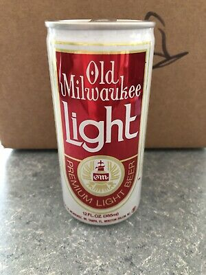 VTG Rare Old Milwaukee Light - 355ML - 12oz - Great Condition Beer Can