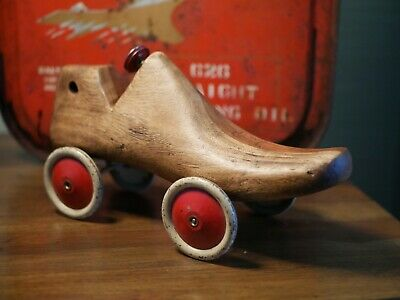 Upcycled Vintage Cobblers Shoe Last 1930's Brooklands Racing Car *Price for 1* C