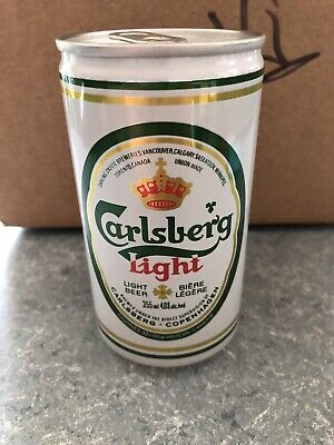 VTG Rare Carlsberg Lager Light - 355ML - Great Condition Beer Can