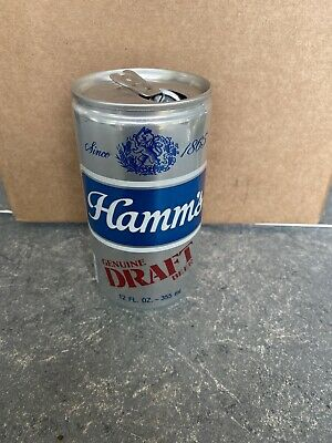 VTG RARE Hamm's Genuine Draft Beer - 12 FL. OZ. - Great Condition Beer Can