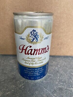 VTG RARE Hamm's Beer - 12 FL. OZ. - Great Condition Beer Can