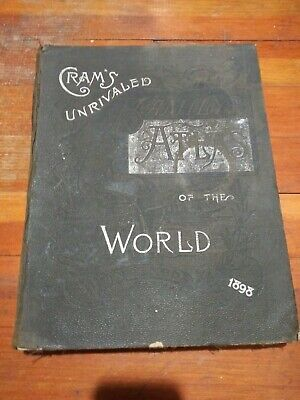 1898 Crams World Atlas