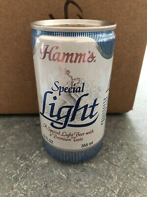 VTG Hamm's Special Light  - 355ML - 12oz - Beer Can - Olympia WA
