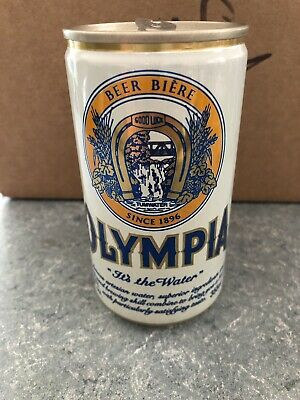 VTG Olympia Beer - 355ml - 12oz - Beer Can - Olympia Brewing Co. Tumwater WA