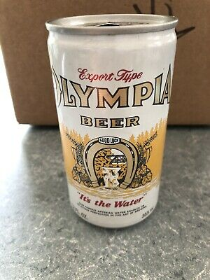 VTG Olympia Beer - 355ml - 12oz - Beer Can - Olympia Brewing Co. Olympia WA