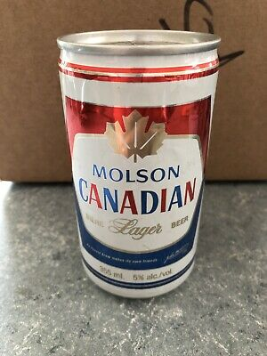 VTG Rare Molson Canadian - 355ml - Beer Can