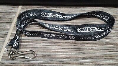 Authentic Original Nintendo GameCube & Game Boy Advance SP Promo Lanyard - GBA