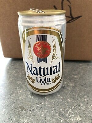 VTG RARE Anheuser Busch Natural Light- 12 FL. OZ. - Great Condition Beer Can