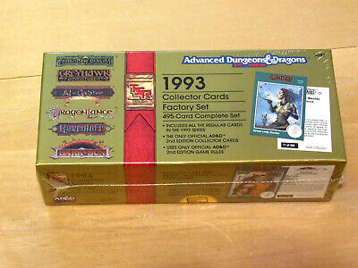 Factory Sealed 1993 Advance Dungeons & Dragons - 2nd Edition Collector Cards Set