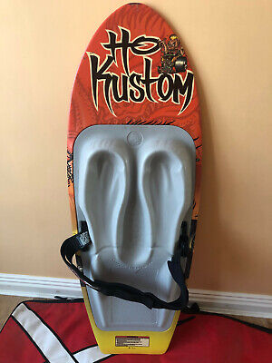 Used Ho Kustom Kneeboard In very good condition except small chip