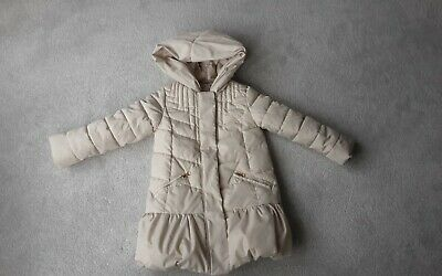 Onme  boutique  cream coat aged 6-7 yrs