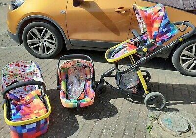 Cosatto Giggle Pixelate Travel System