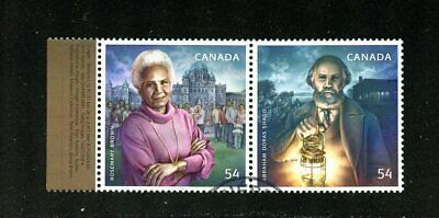 #  2316 ex 2316a Rosemary Brown & Abraham D. Shadd  set