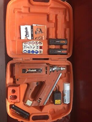 Paslode IM350/90CT First Fix Nail Gun 3 Batteries
