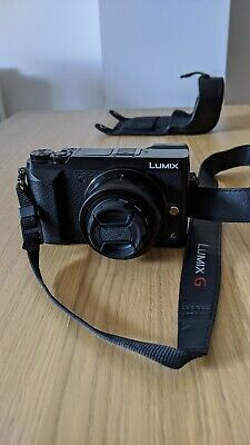PANASONIC Lumix DMC-GX80 Mirrorless Camera with 12-32 mm Lens and Leather case