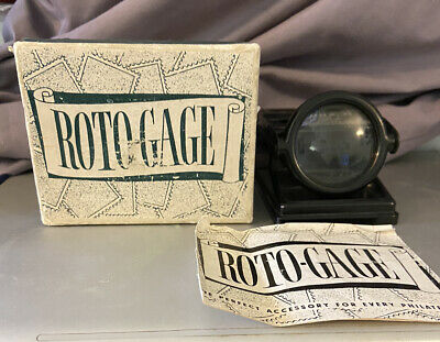 Vintage Roto-Gage Perforation Gauge Imperial Molds Products With Original Box