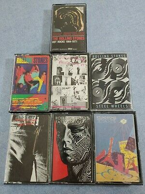 Lot 7 - Rolling Stones - Cassettes Tapes -