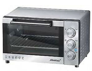 Steba KB 19 Electric 19 L 1300 W 19 L 1300 W Stainless steel Grill and 42900