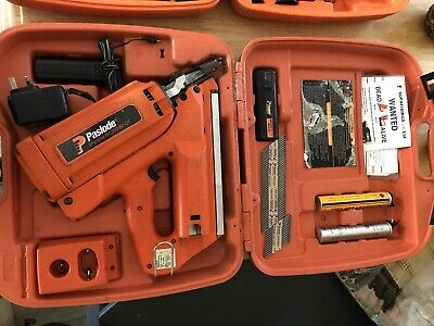 Paslode IM350/90CT First Fix Nail Gun 2 Batteries