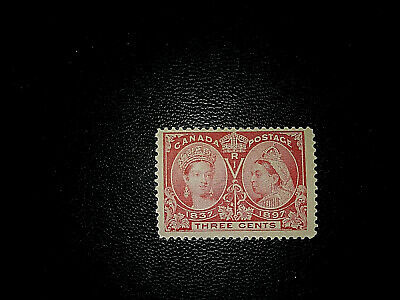 Canada  stamps  no 53 Diamond jubilee MINT  N. H.cat. $100.00