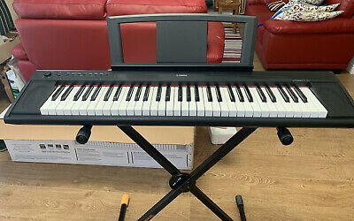 Yamaha PIAGGERO Keyboard , Hercules Stand And Piano Stool - EXCELLENT Condition