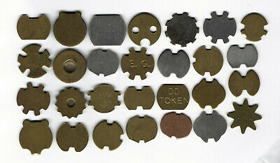 21. Lot Of 28 Slot Tokens For Various Applications, Golf, Telephone And More