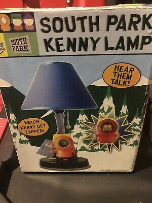 South Park Kenny Lamp In Box  Extremely Rare